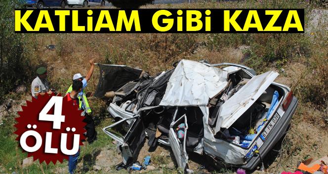 Amasya'da feci kaza: 4