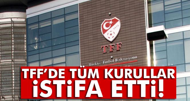 TFF'de tüm kurullar istifa