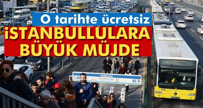 İstanbul'da ulaşıma 'miting' ayarı