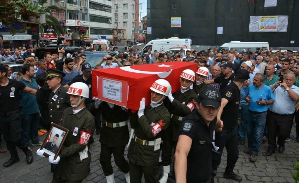 Jandarma Uzman Çavuş Murat Durmaz Toprağa Verildi