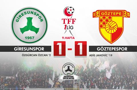 Giresunspor 1-1
