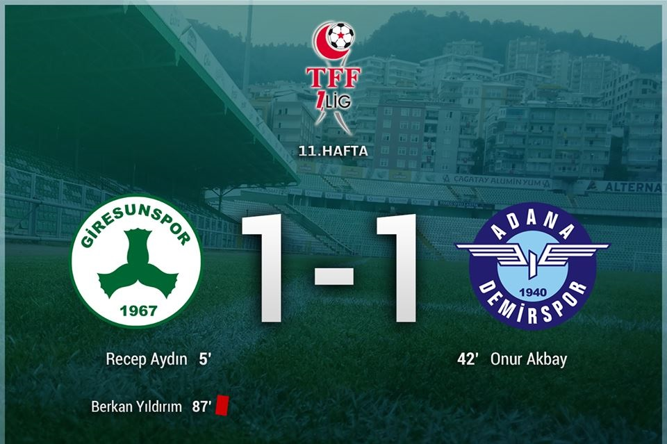 Giresunspor-Adana Demirspor: