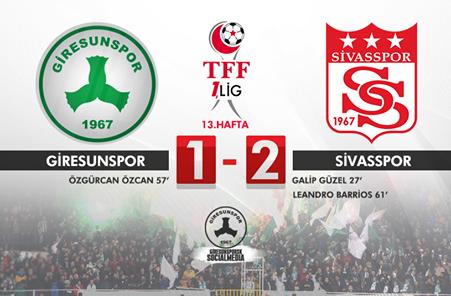 Giresunspor-Sivasspor: