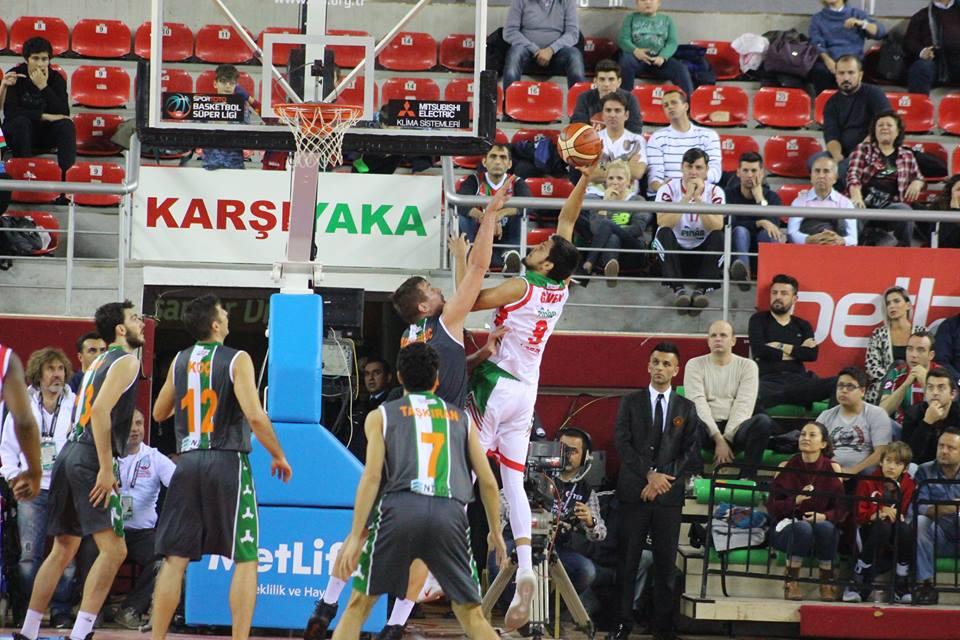 Pınar Karşıyaka - Yeşilgiresun Belediyespor maç sonucu: 80 -