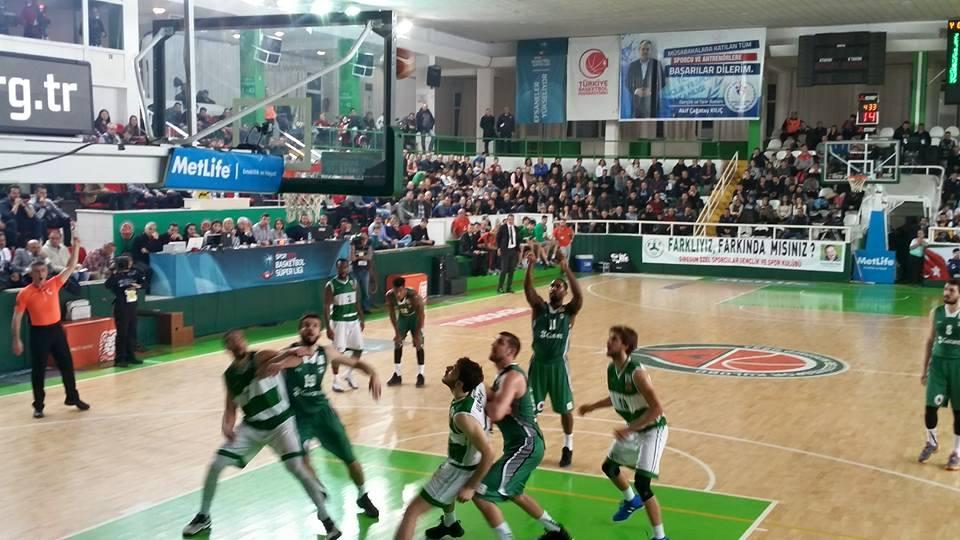 Yeşilgiresun Belediyespor: 61 - Darüşşafaka Doğuş: