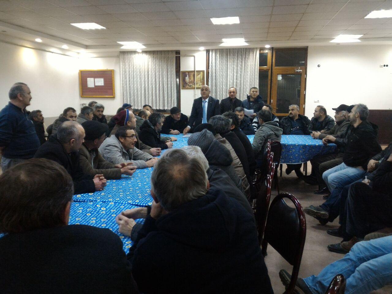 Bursa Yağlıderelilerde Ali Kılıç Güven