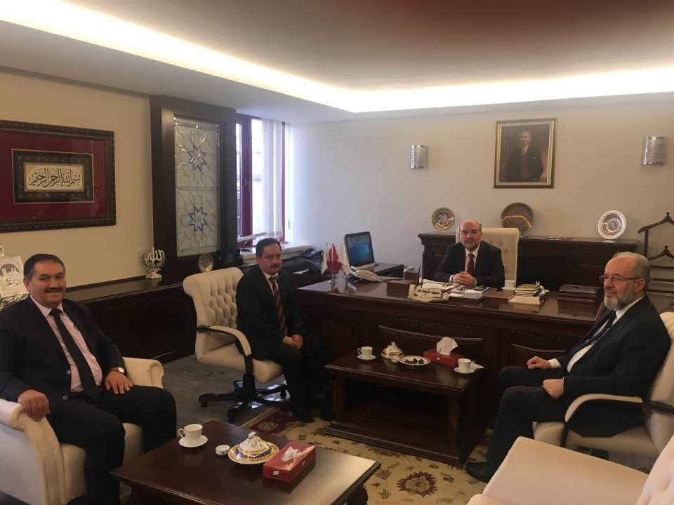Başkan Demir'den Ziyaretlere Devam