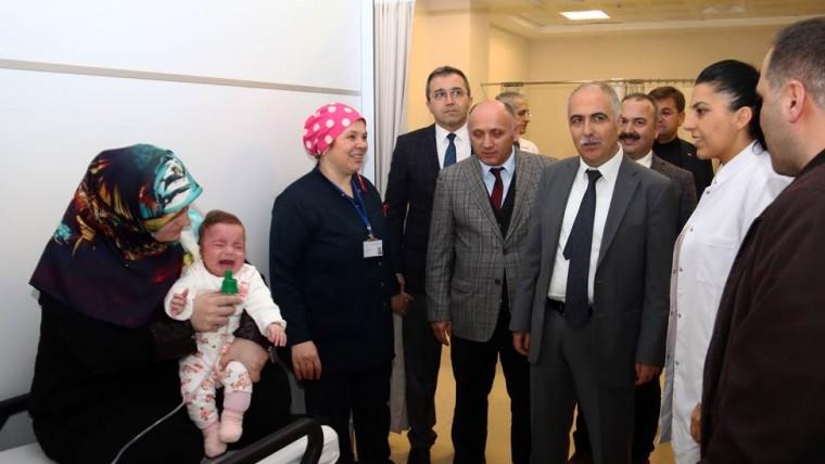 Vali Karahan'dan Hasta Memnuniyeti Uyarısı