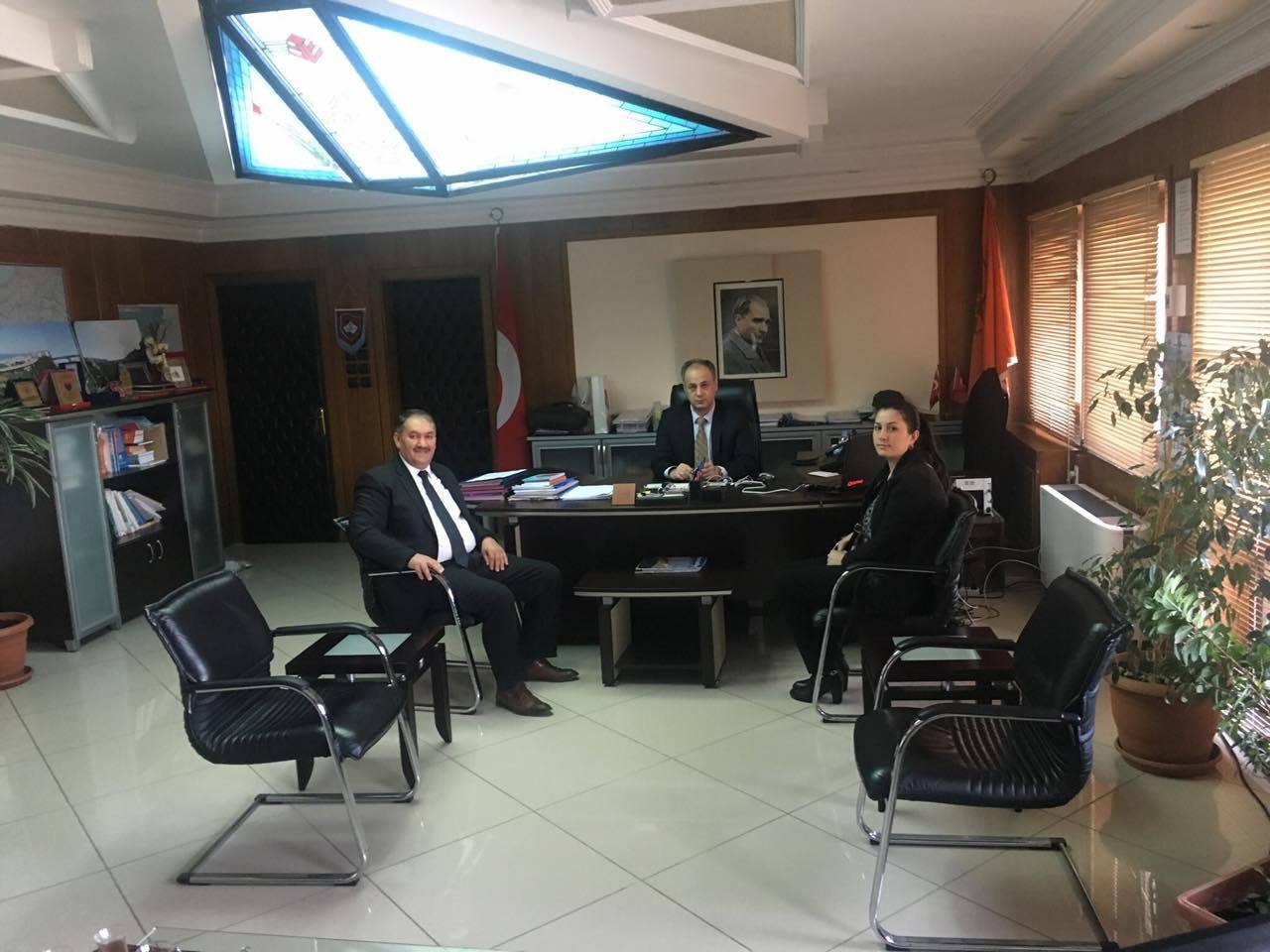 Başkan Demir Bölge Müdürü Bayramçavuşu Ziyaret