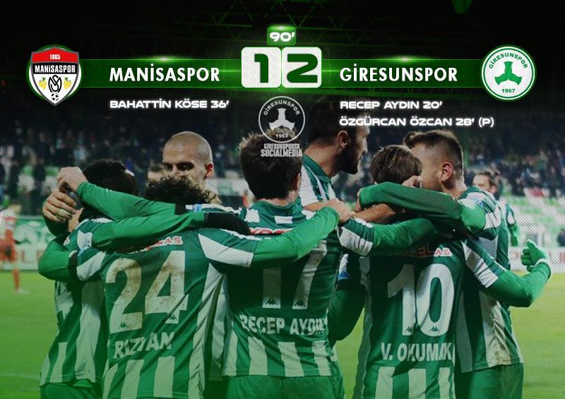 Manisaspor 1-2
