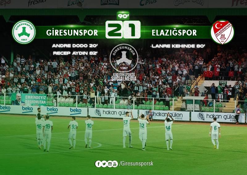 Giresunspor 2-1