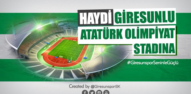 Haydi Giresunlu Atatürk Olimpiyat