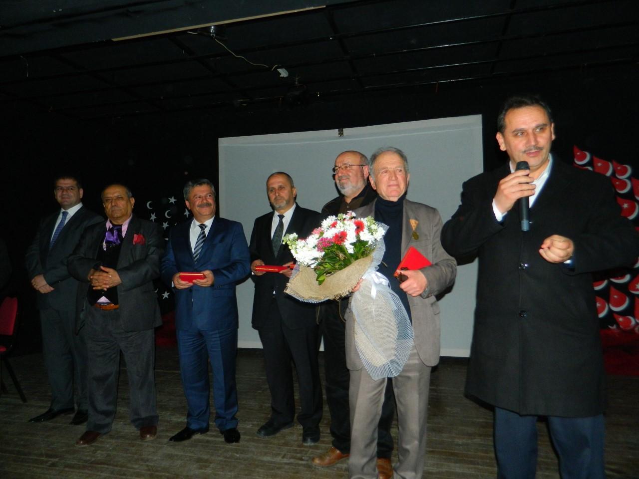 Kurdoğlu Mustafa Zeki Belgesel filmin galası