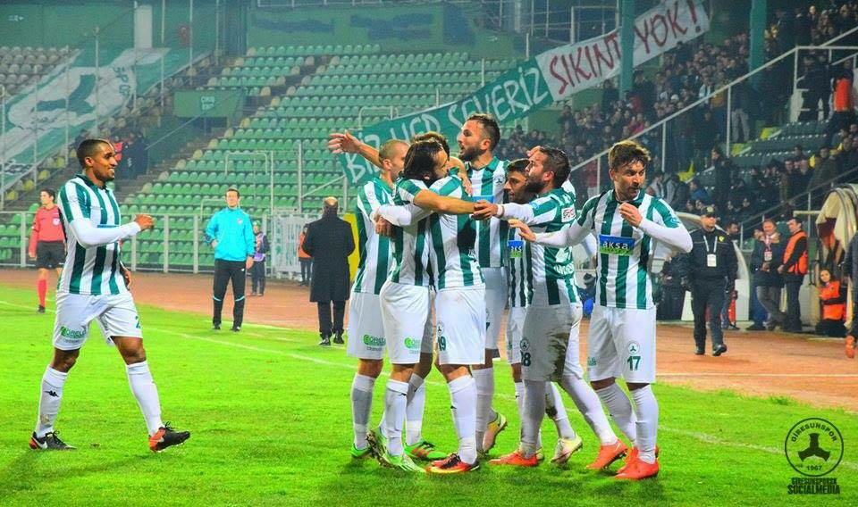 Giresunspor 1-0