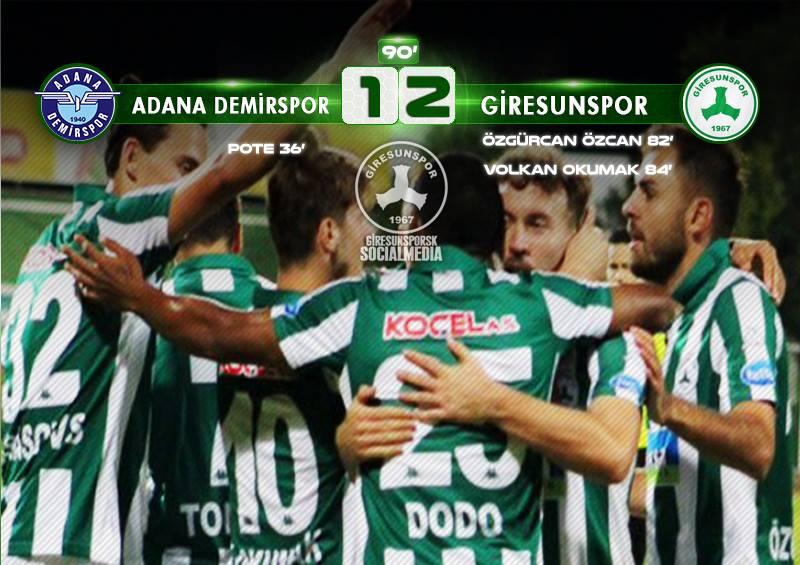 Adana Demirspor 1-2