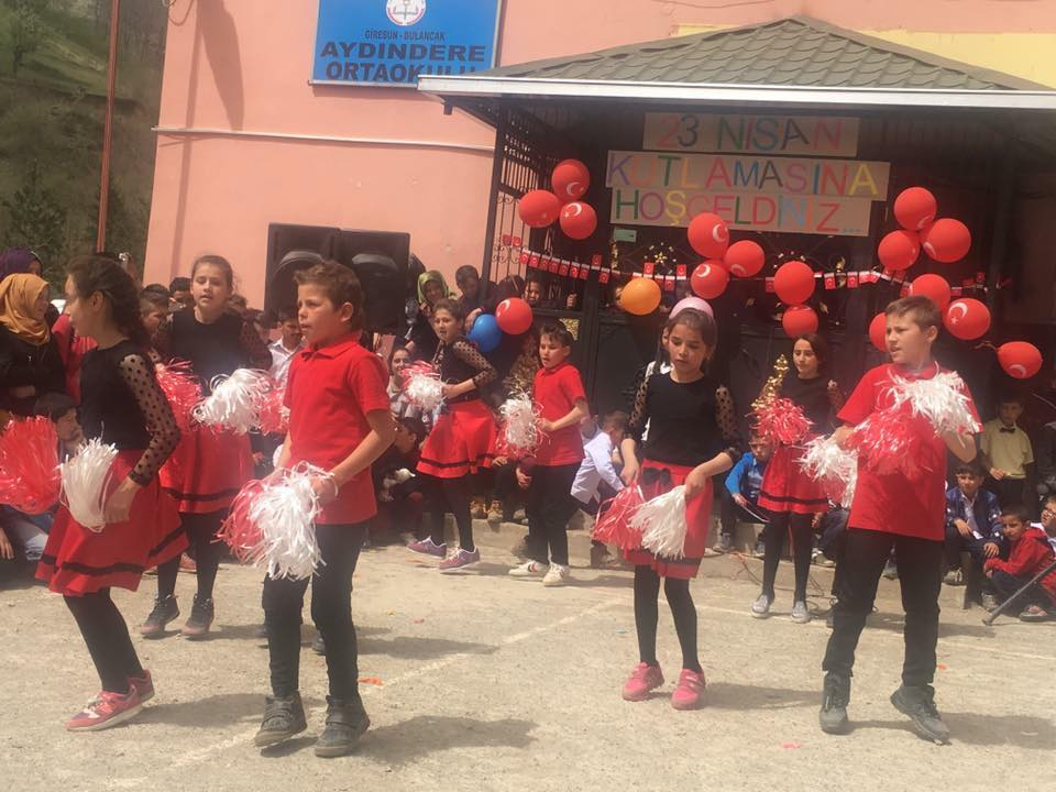 Aydındere' de 23 Nisan'ı Çoşkuyla Kutladık
