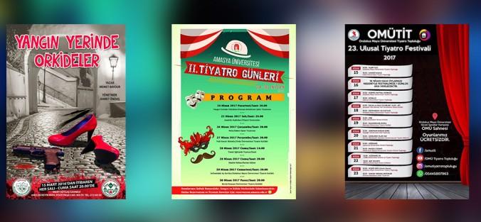 Belediye Şehir Tiyatrosu Amasya Ve Samsun'a