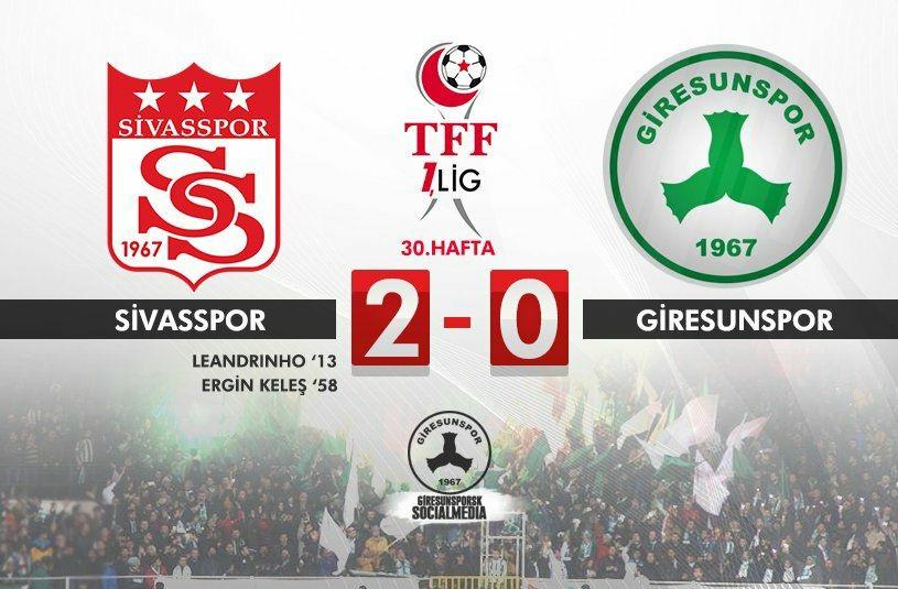 Sivasspor-Giresunspor:
