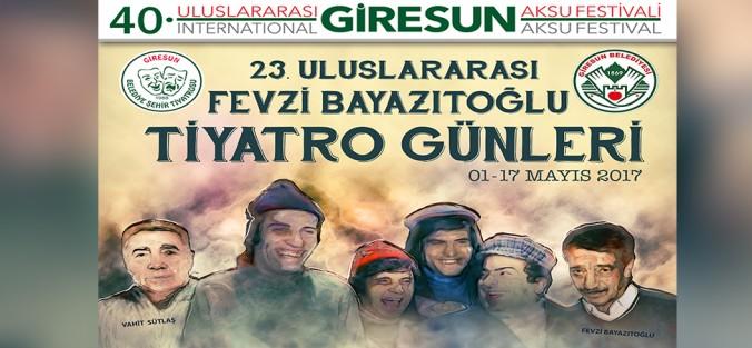 23. Fevzi Bayazıtoğlu Tiyatro Günleri