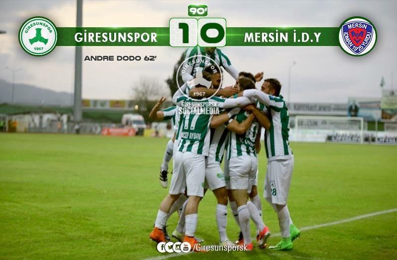 Giresunspor 1-0 Mersin İdman