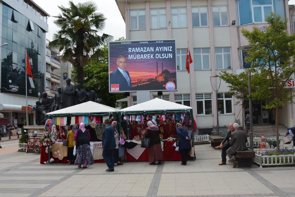 Başkan Yakar'dan Bulancak'a dev ekran
