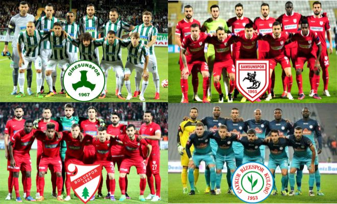 Karadeniz Takımları TFF 1. Lig'i