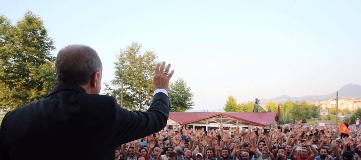 Bulancak, Cumhurbaşkanını gururla ağırladı