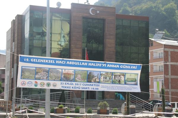Hacı Abdullah Halife için anma töreni düzenlenecek.