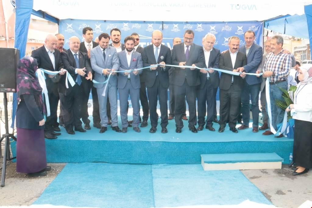 TÜGVA Giresun İl Temsilciliği Açıldı