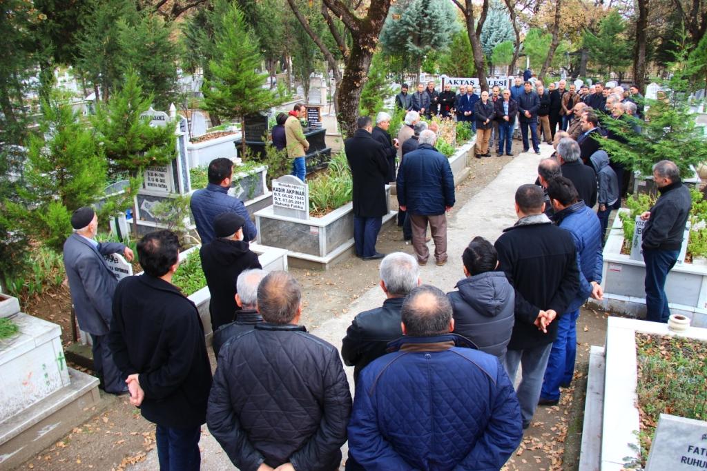Yakup Aktaş Ölümünün 7.Yılında Mezarı  Başında Anıldı