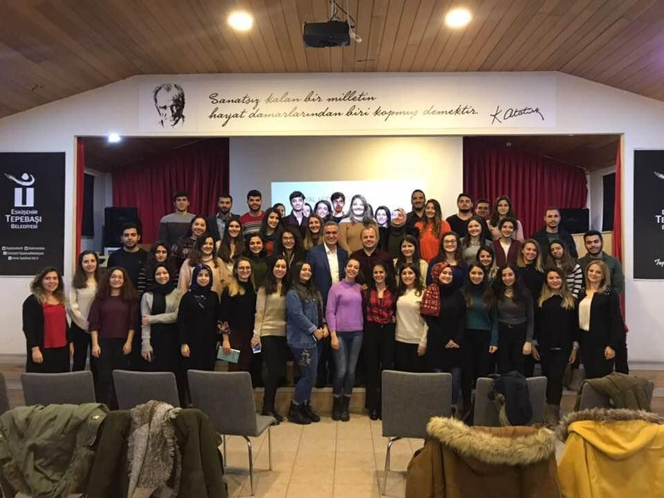 Coşkun Sosyal Hizmet Bölümü Öğrencileri ile buluştu