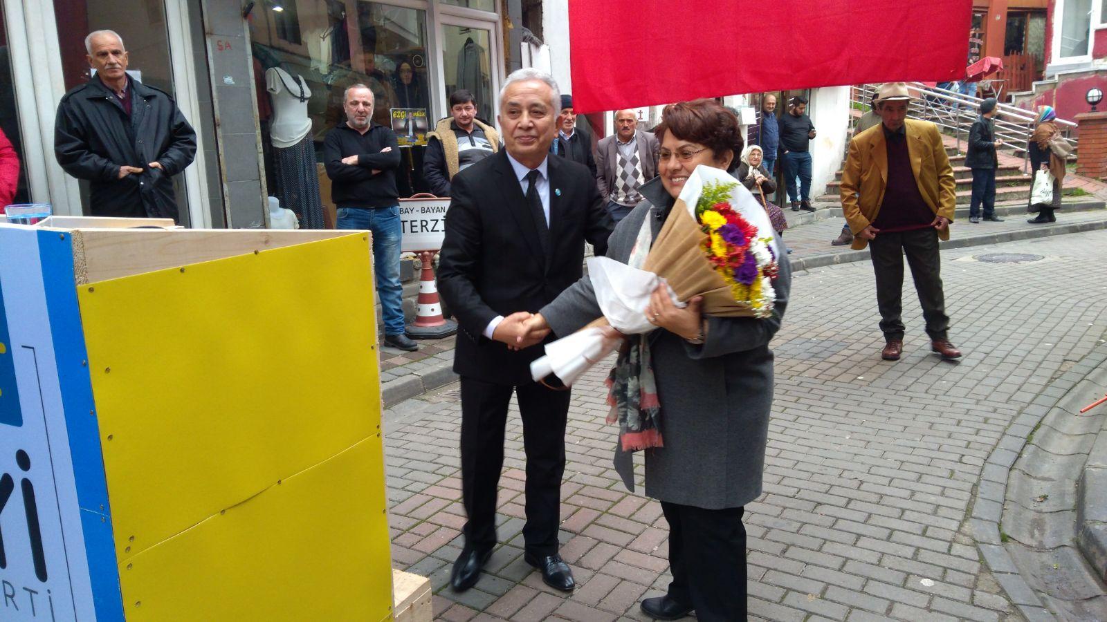 İYİ Parti'den Yağlıdere'de Görkemli Açılış