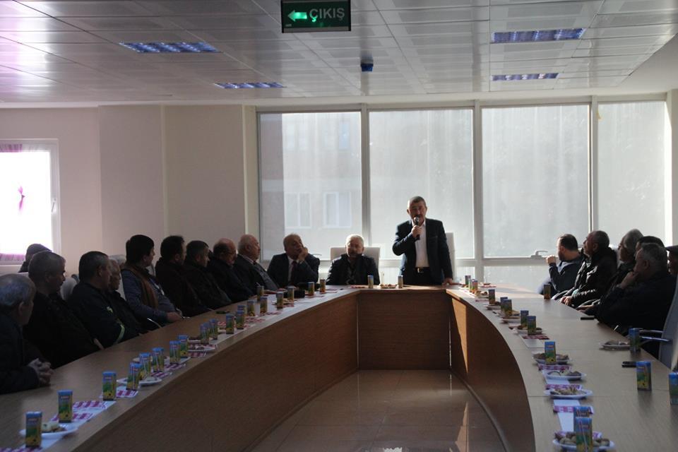 Yağlıdere'de İlçe Esnafıyla İstişare Toplantısı