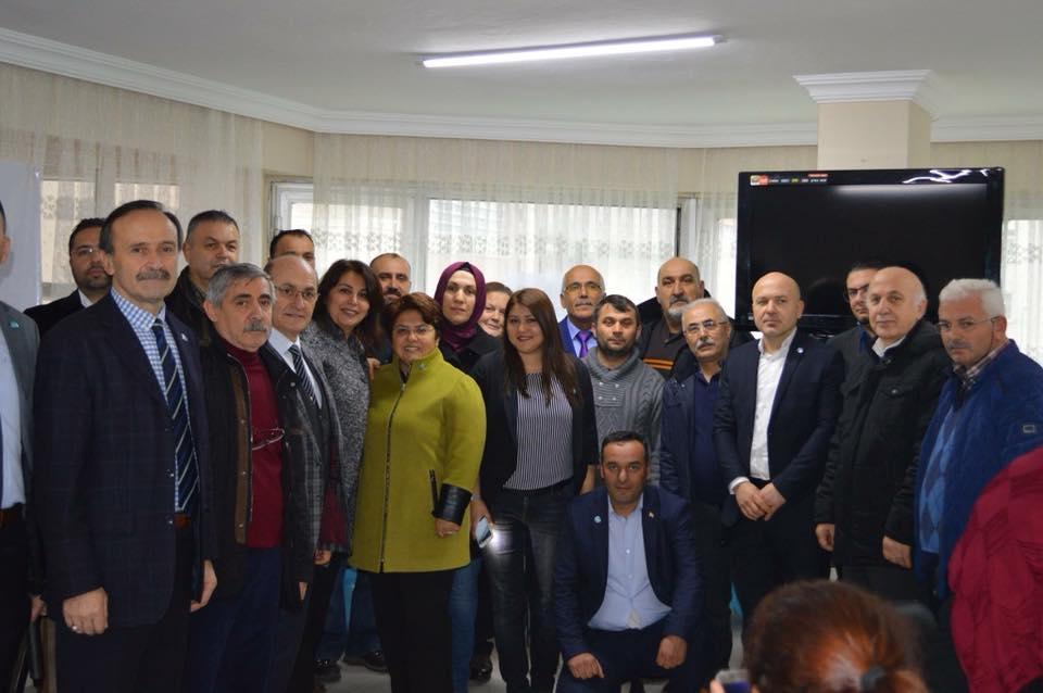 İYİ Parti'nin Bulancak İlçe Teşkilatı açıldı