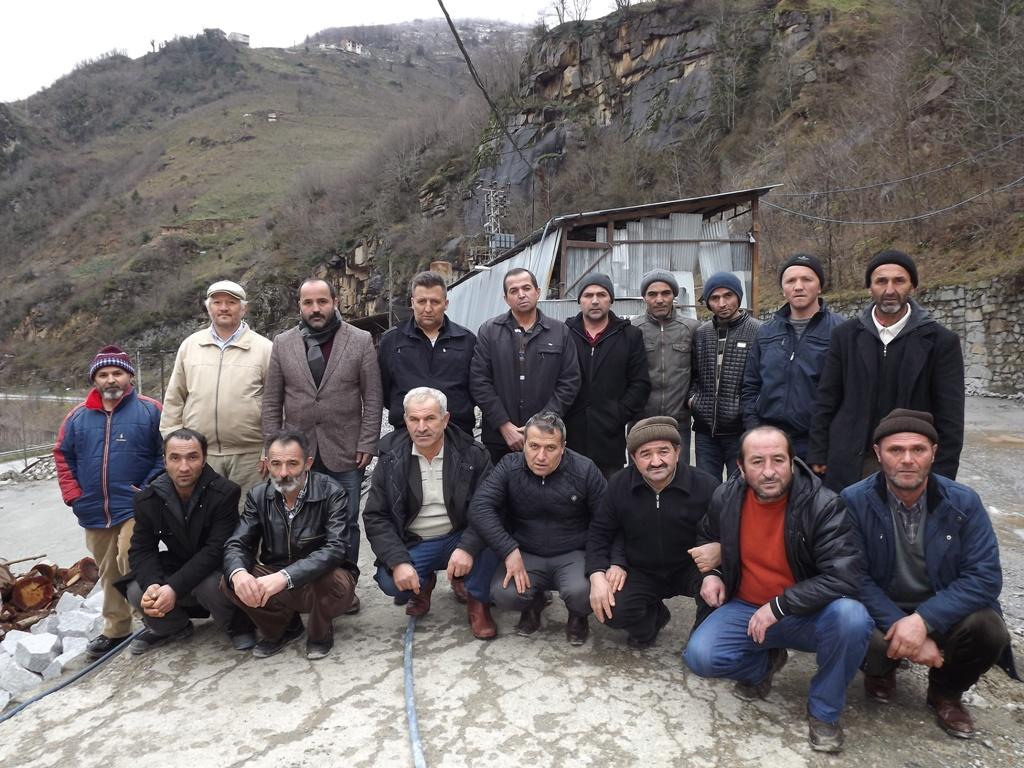 Ayka Granit İşçileri Yetkililerden Yardım