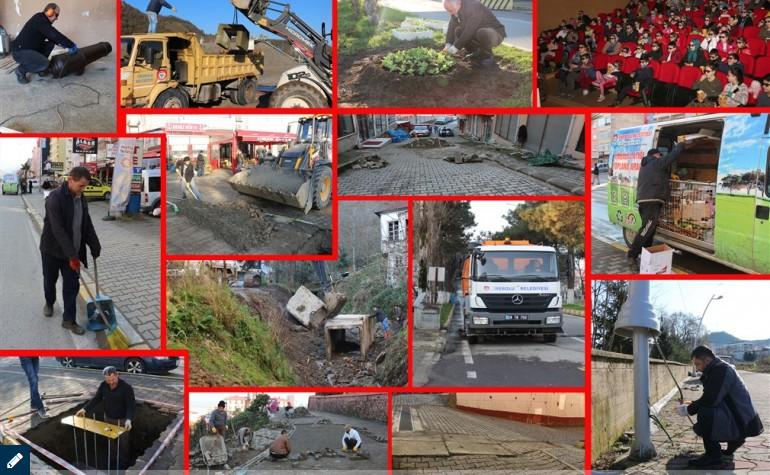 Tirebolu Belediyesi:Arı Gibi