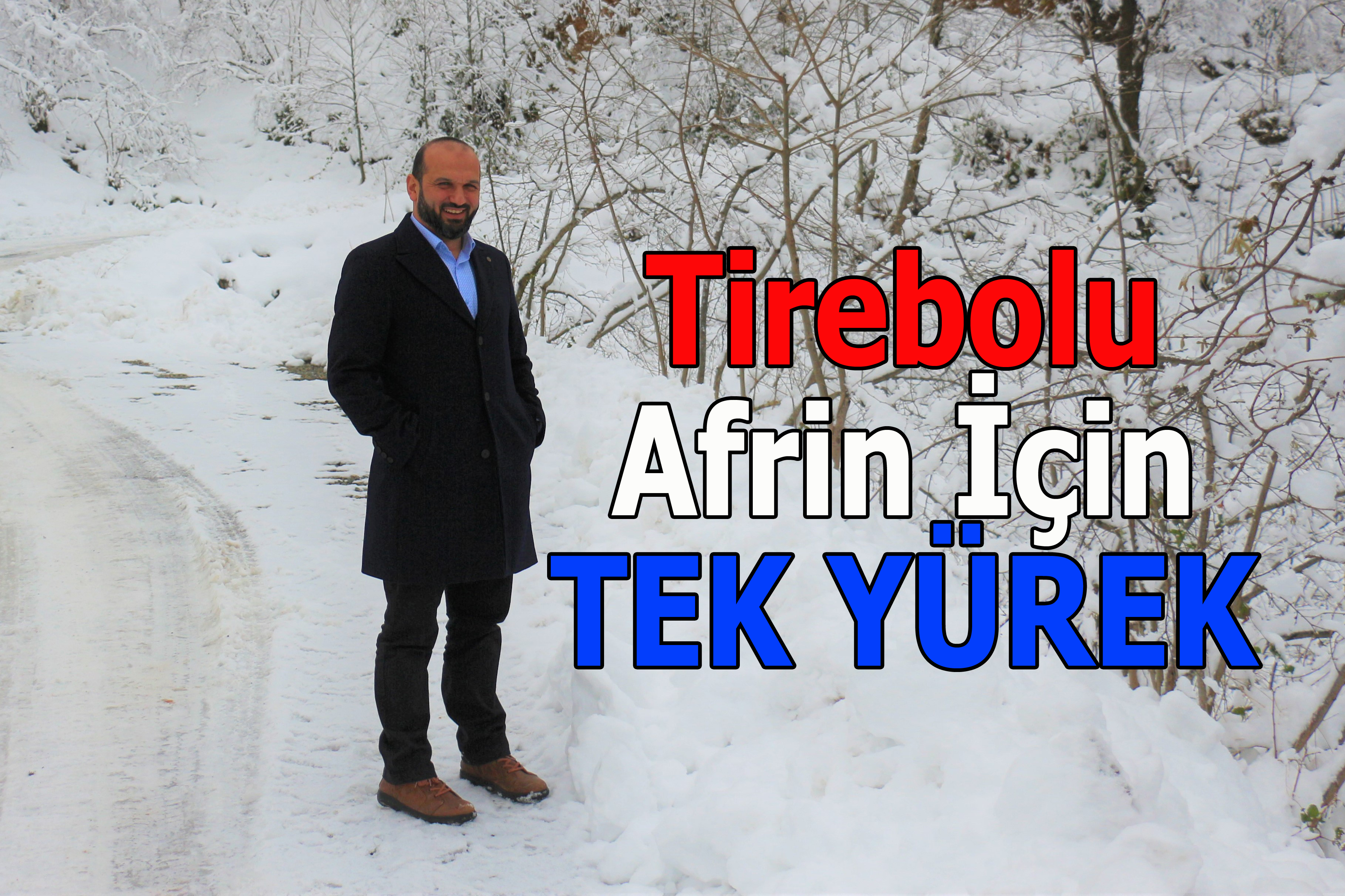 Tirebolu Afrin İçin Tek Yürek Oldu. Fındık Dalı Uzattı