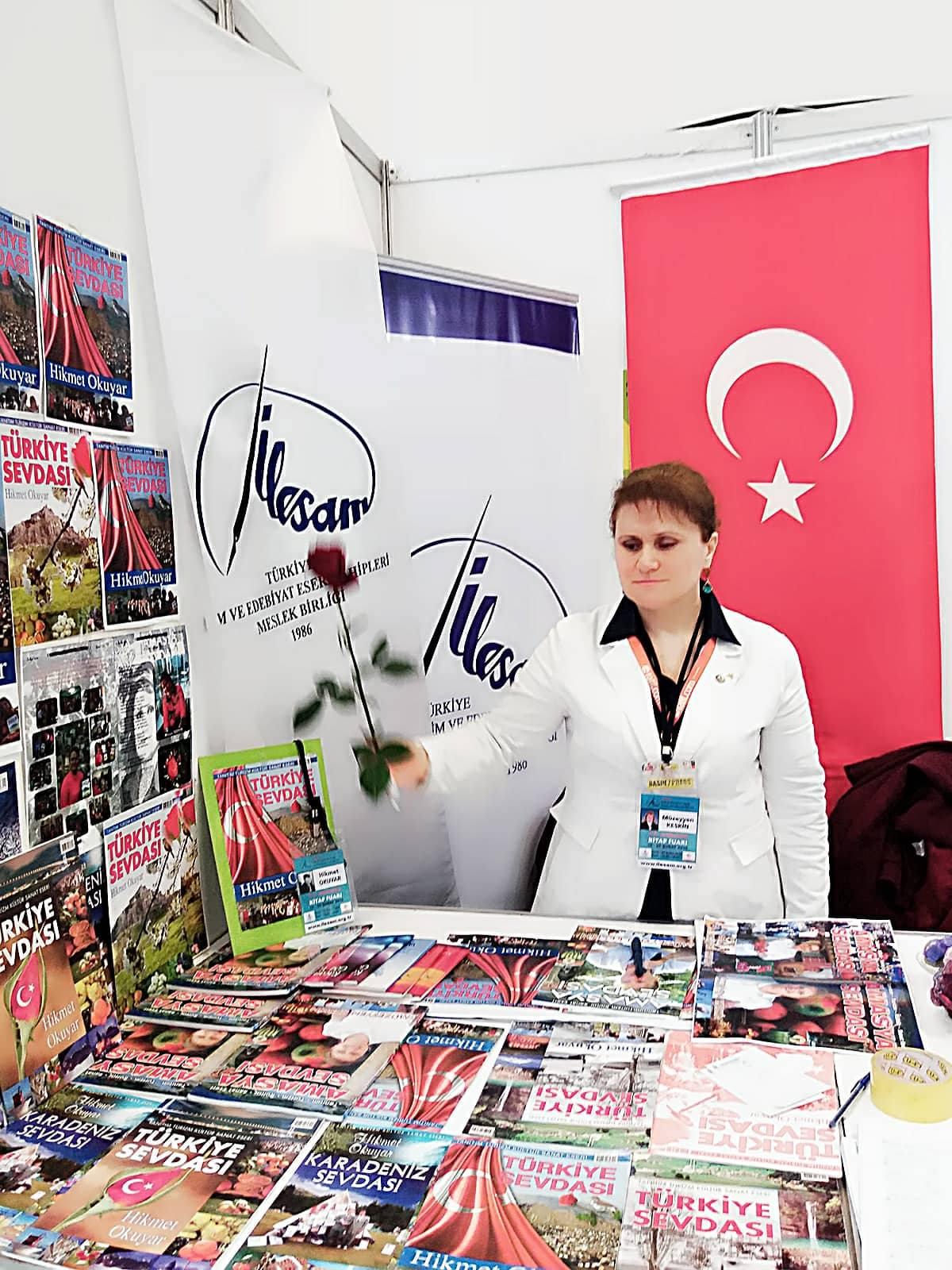 TÜRKİYE SEVDASI tanıtımı ÇANKAYA'DA YAPILDI..