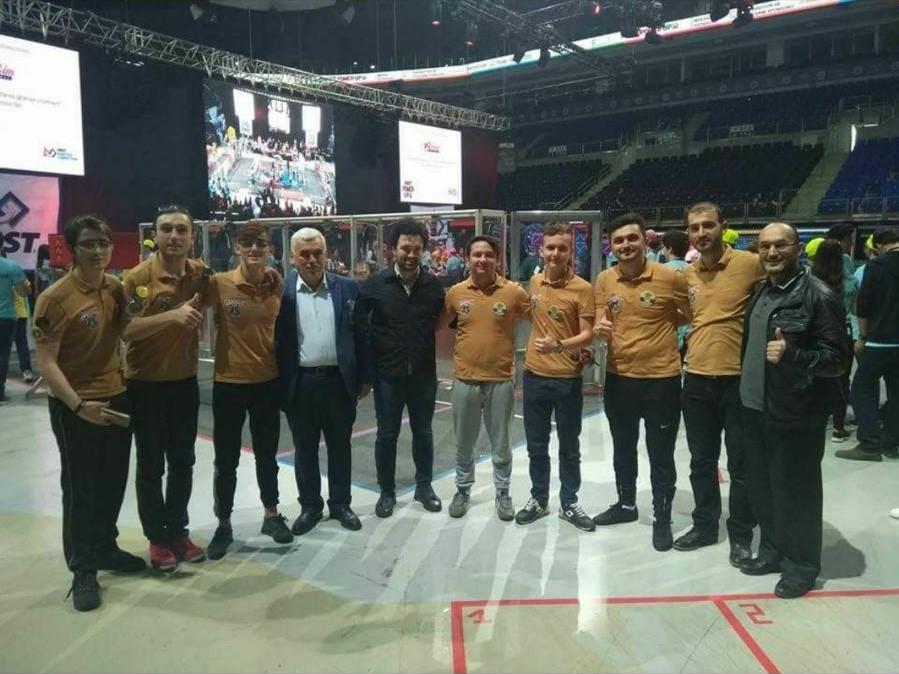 Pirazizli Öğrenciler Türkiye Şampiyonu