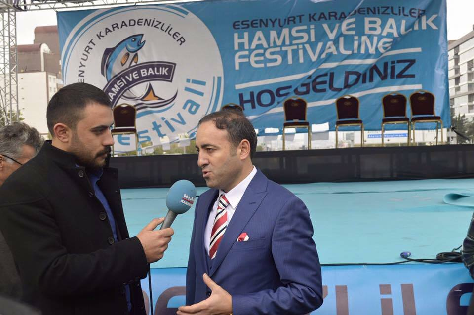 Karadenizliler Hamsi Festivalinde Buluşuyor