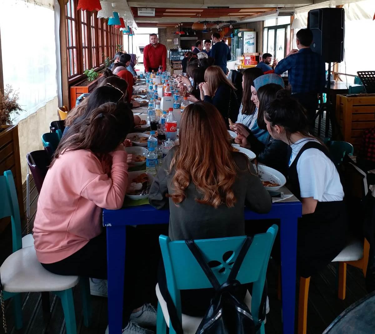 TÜGVA Bulancak, Bosnalı öğrencileri ağırladı