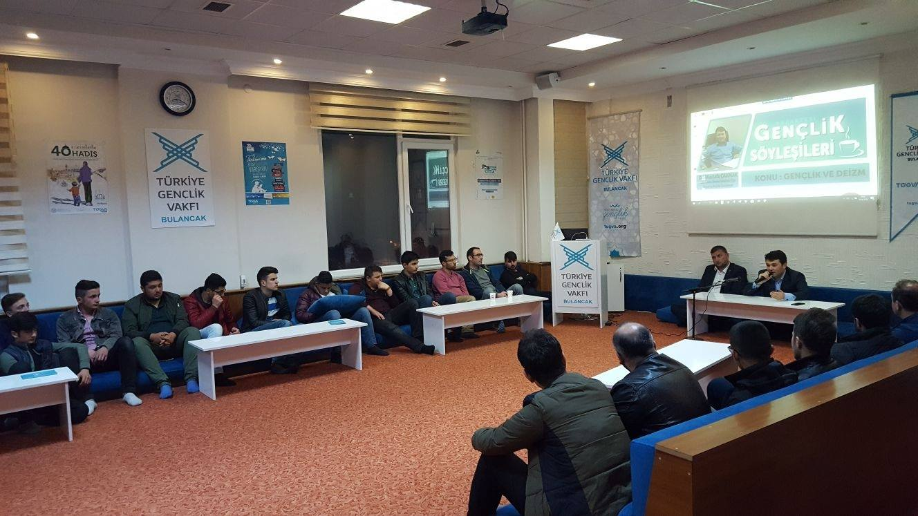 TÜGVA Bulancak'ta, Dr. Mustafa Çakmak'tan Deizm söyleşisi