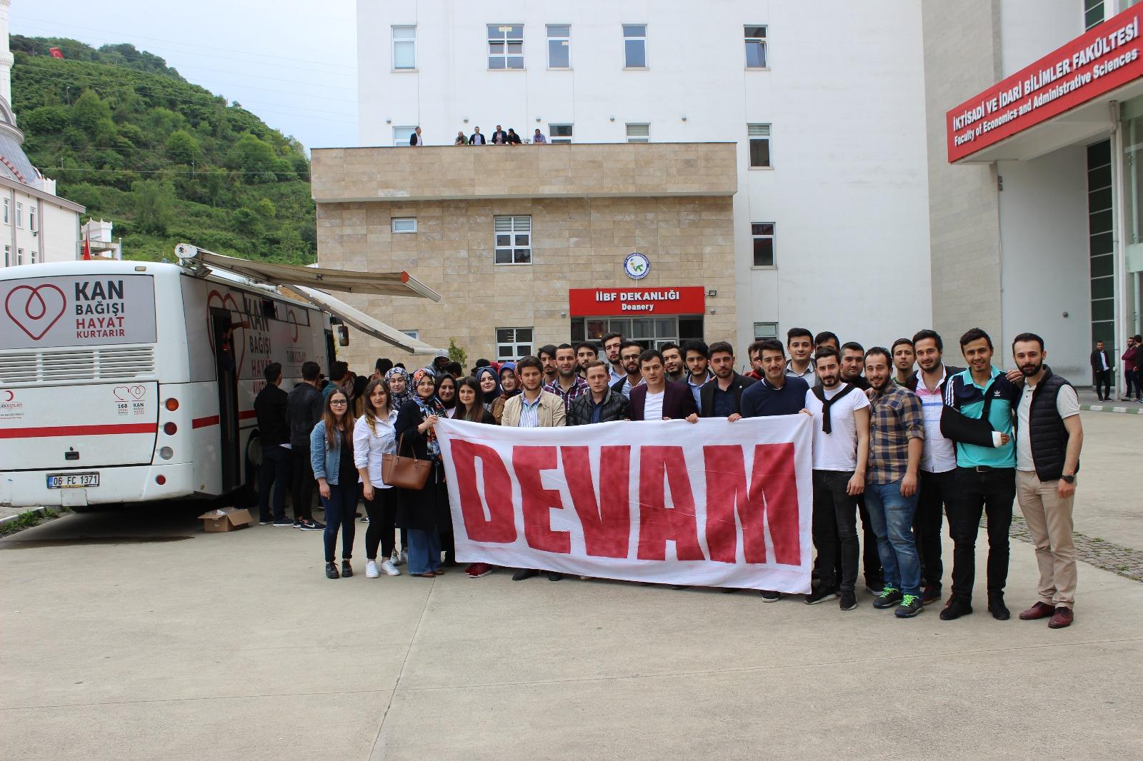 AK Partili Gençlerden Kan Bağışı