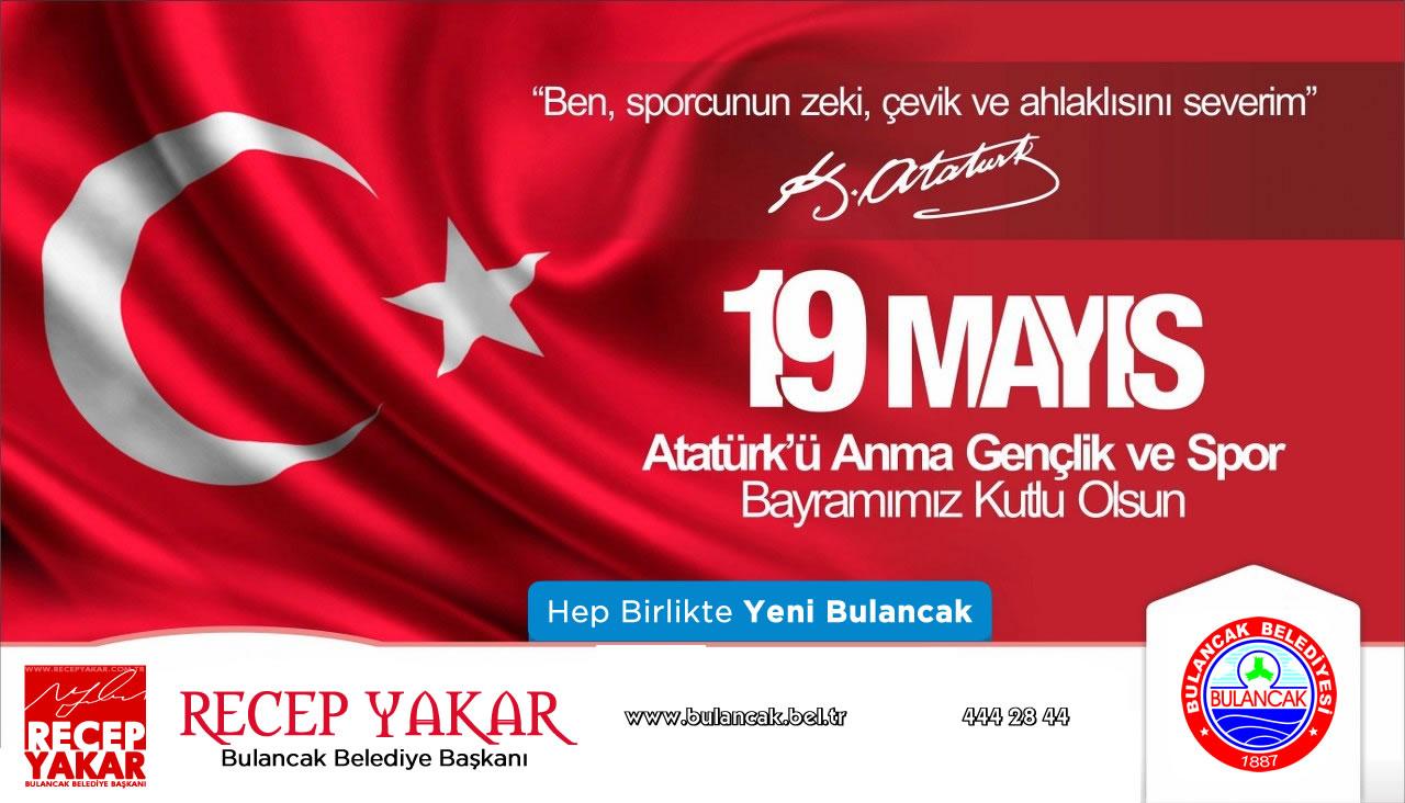 Başkan Yakar'dan 19 Mayıs Gençlik Haftası Mesajı
