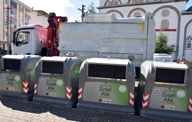 Giresun'da Çöp Konteynerleri Martılara Emanet!