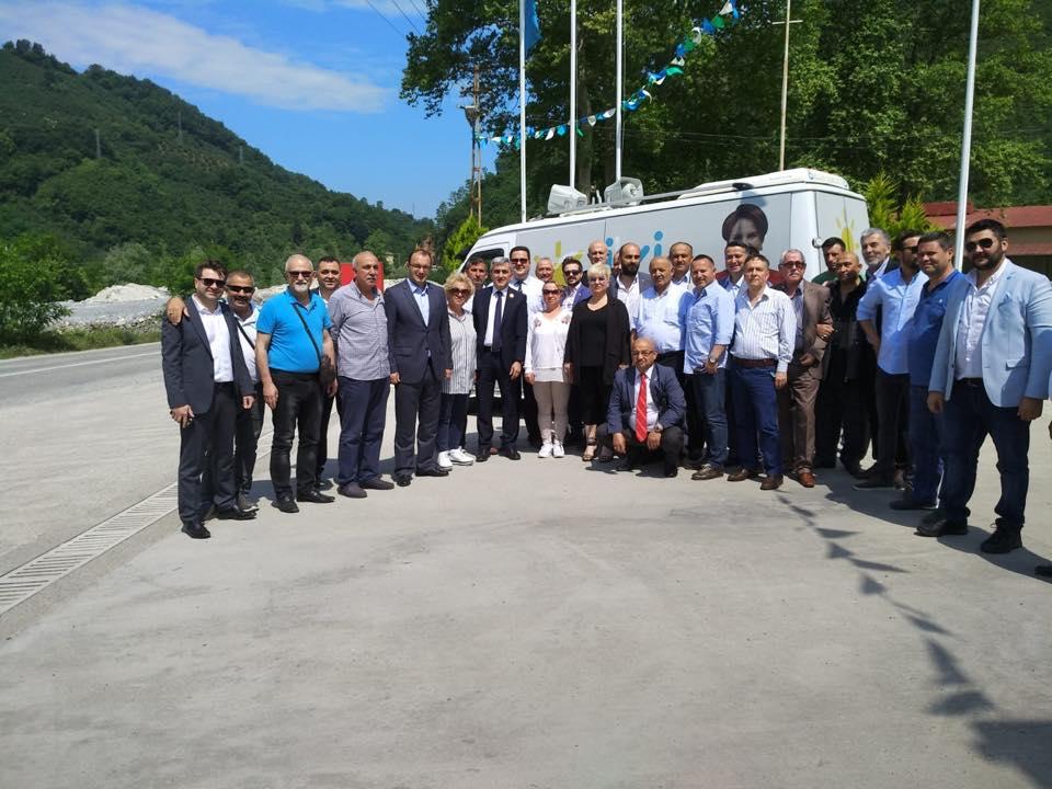 Erzurum, ilk ilçe ziyaretini baba ocağı Dereli'ye