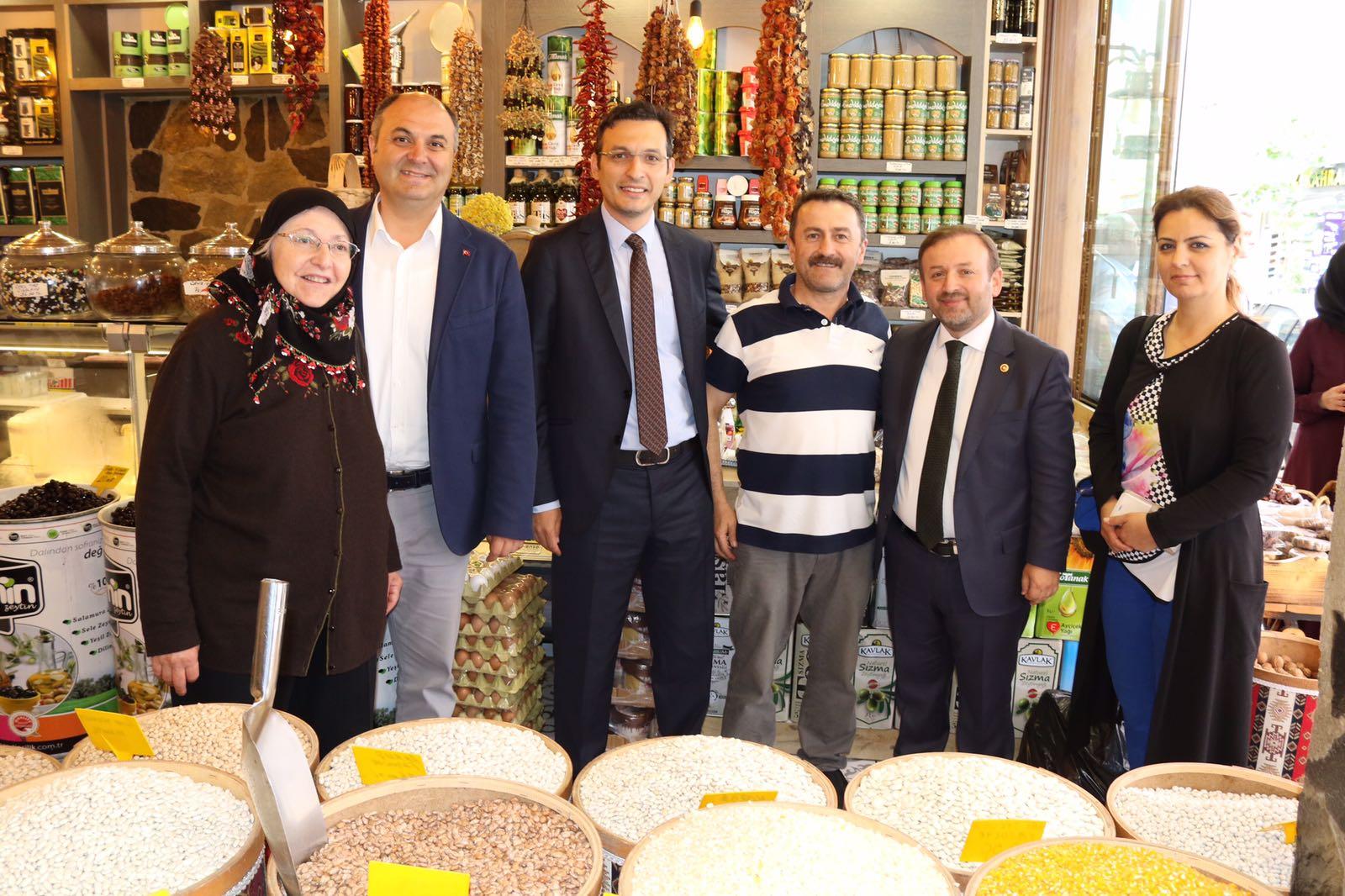 Sabri Öztürk ve Serdar Demirkan'dan ziyaretler