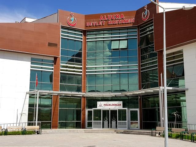 Yeni Alucra Devlet Hastanesi Hizmete