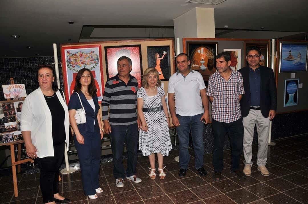 Amasya'da Muhteşem Resim Sergisi.