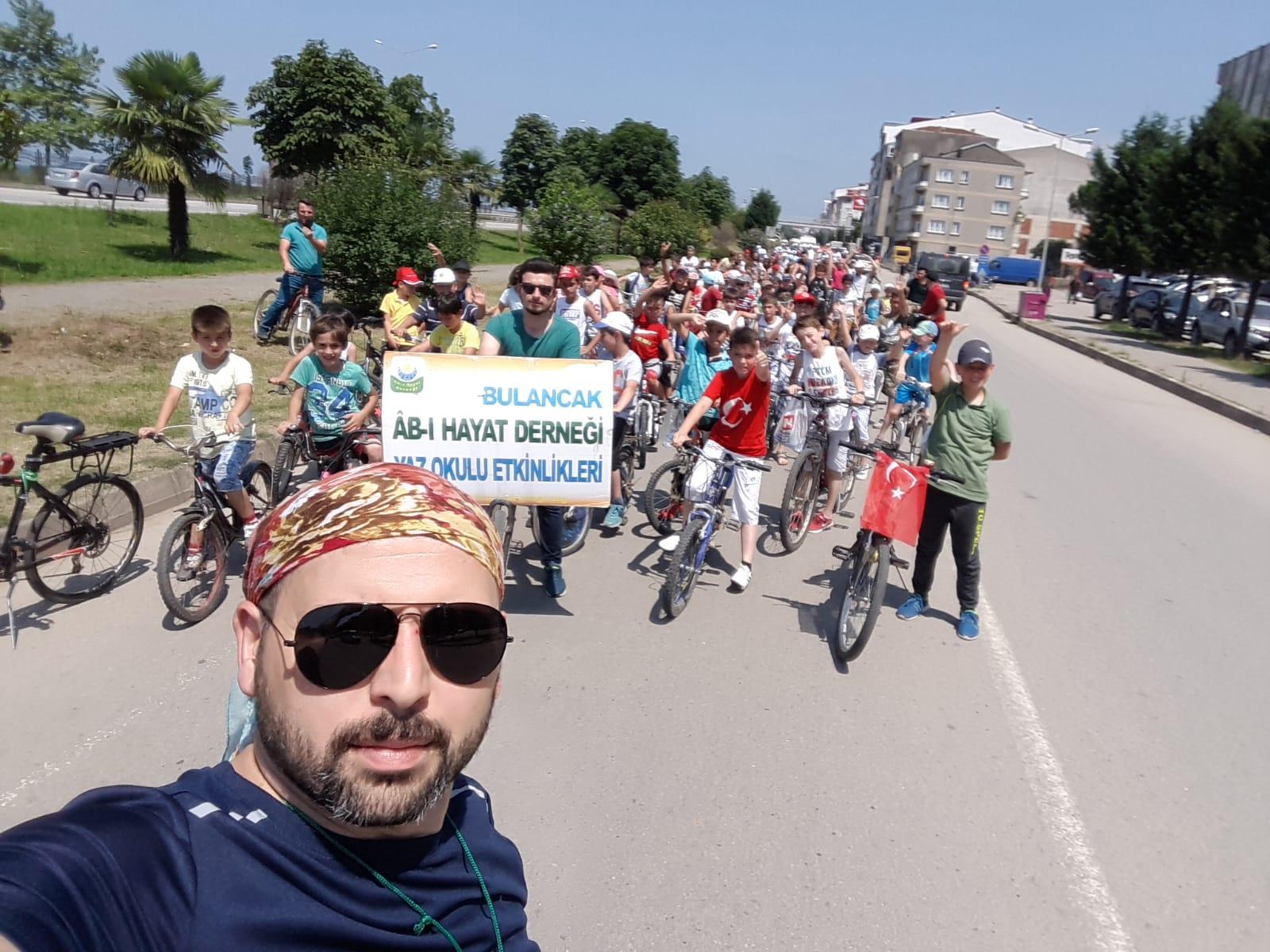 Bulancak'ta 15 Temmuz Şehitleri için Bisiklet Turu